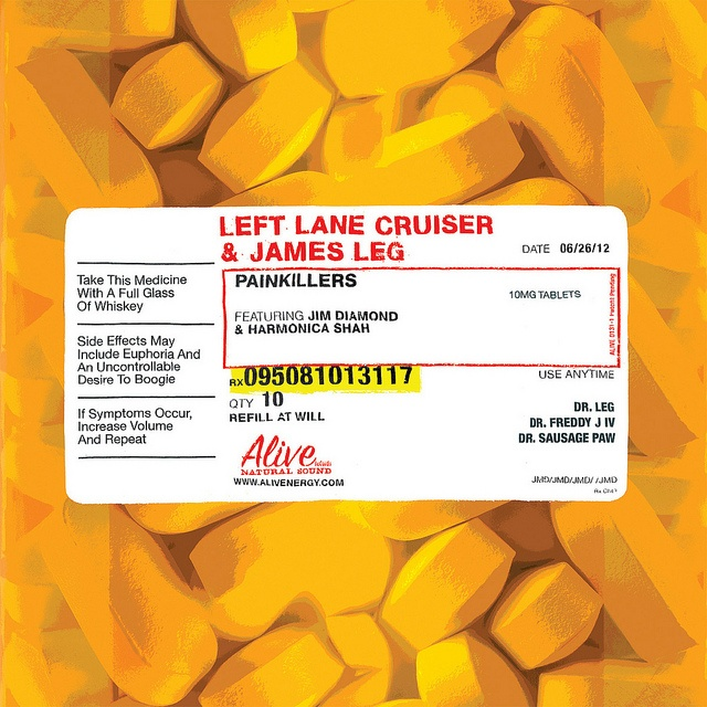 Left Lane Cruiser CD cover