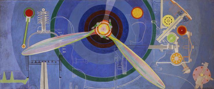 Sonia Delaunay pour le Pavillon de l'Air de l'Exposition internationale des arts et techniques de 1937 à Paris - sublime !