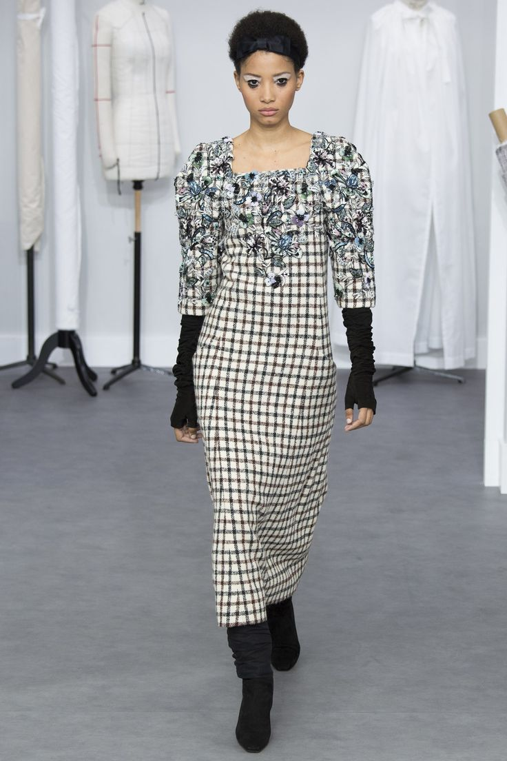A celebration of all the heroes hiding in the shadows - see all the pictures from the Chanel A/W 2016/17 Couture Show on Vogue.co.uk