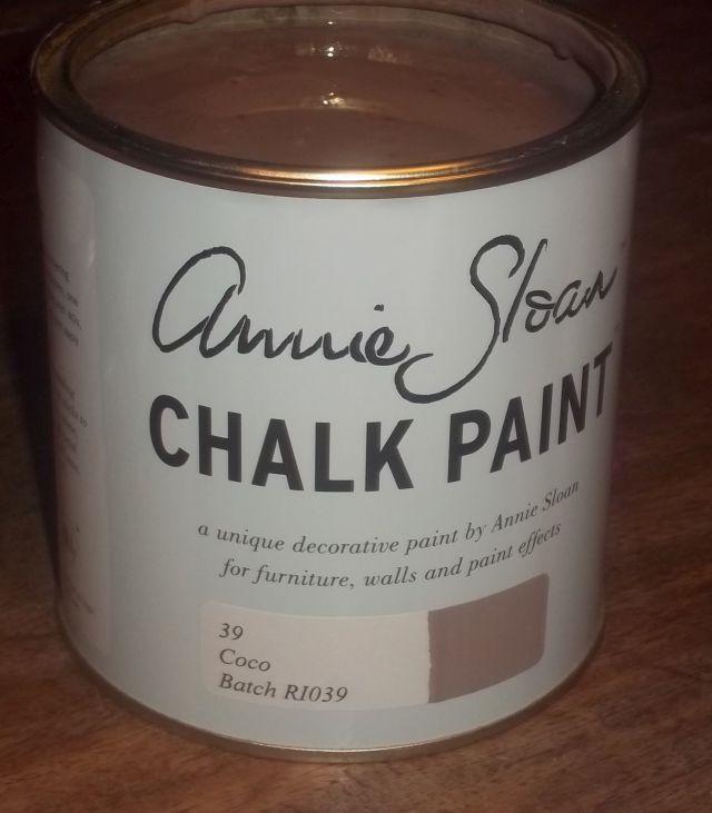 Annie Sloan krijtverf Coco 1 liter