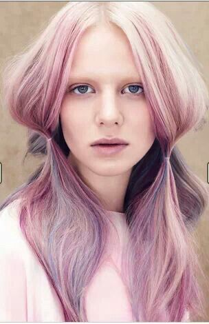 Aveda   Culture Clash Collection   Spring/Summer 2014   www.parexsalonce.com   kansas city   salon spa Aveda. Hair color collection. Pastel pink