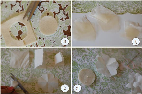 linen and tulleTutorials, The Bride