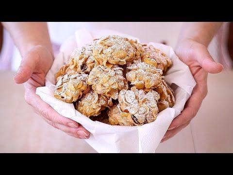 Biscotti Rose del Deserto ai Cereali Ricetta Facile - Corn Flake Cookies Easy Recipe - YouTube