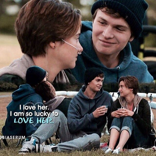 It's a good life Hazel Grace. And it's not over yet.