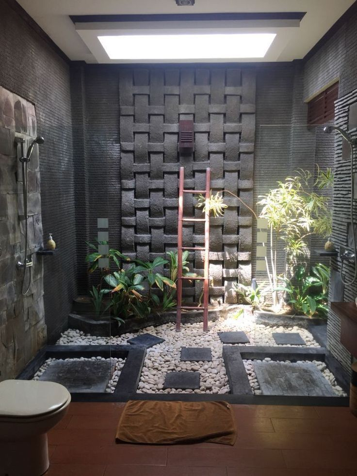 Fabulous Natural Bathroom Decorations For Tropical Sensation Outdoor Bathroom Design Zen Bathroom Decor Natural Bathroom Design