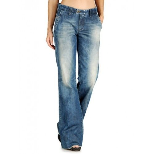 flare jeans | Cheap Diesel Jeans outlet store » Diesel Women FLAIRLEGG 0801J Blue ...