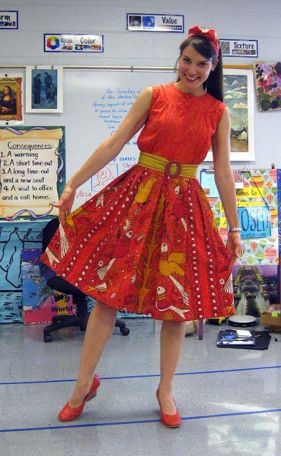 Cassie Stephens: vintage dresses