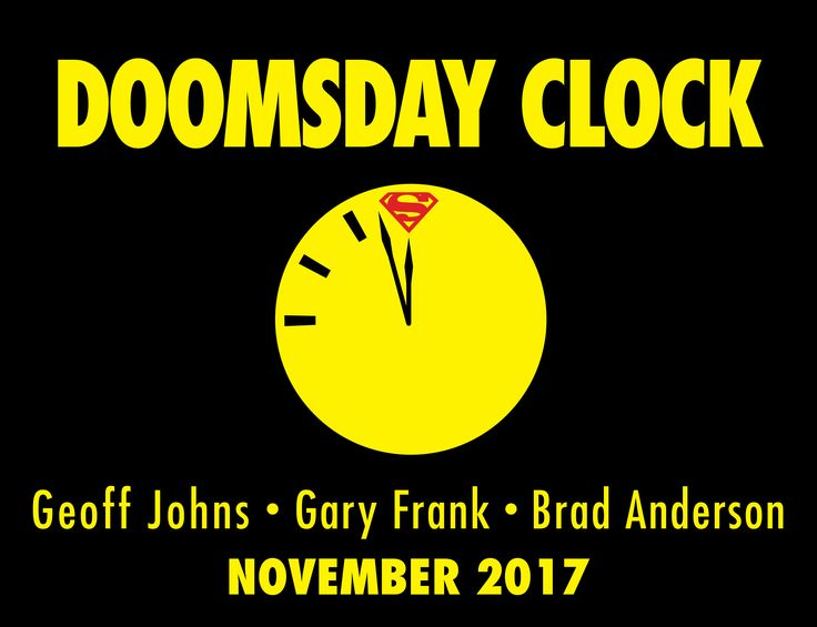 DC Comics' Geoff Johns reveals the exclusive teaser image for Doomsday Clock, and offers details on the November 2017 title tying together Rebirth and Watchmen.