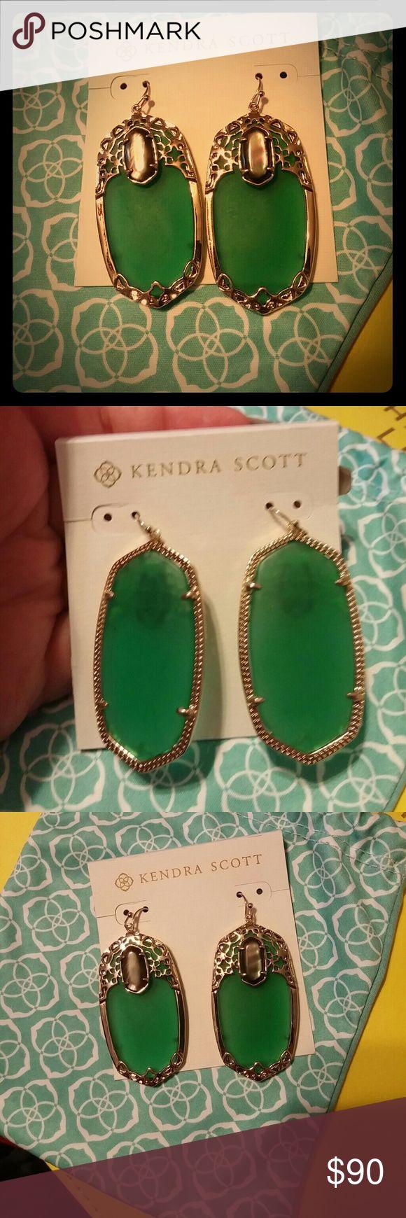 Kendra Scott Deva Earrings NWT Kendra Scott Deva Earrings. Bag included. Purchased at the Kendra Scott store in Atlanta. I am open to offers! Thanks for looking. Kendra Scott Jewelry Earrings