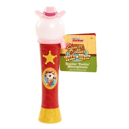 Sheriff Callie Rootin' Tootin' Microphone, Multicolor