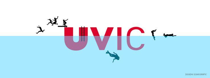 Nova portada de #facebook de la #UVic en motiu de l'#estiu!  #summer #cover #design #disseny #eumografic