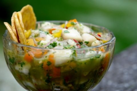 I love ceviche! I think I'll try this recipe when I'm harvesting from the garden.