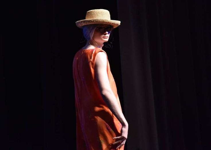 Hayden Parsons as Betty Gray at the sixth annual Moped to Memphis Womanless Beauty Pageant Feb. 20 at Clover High School Auditorium.