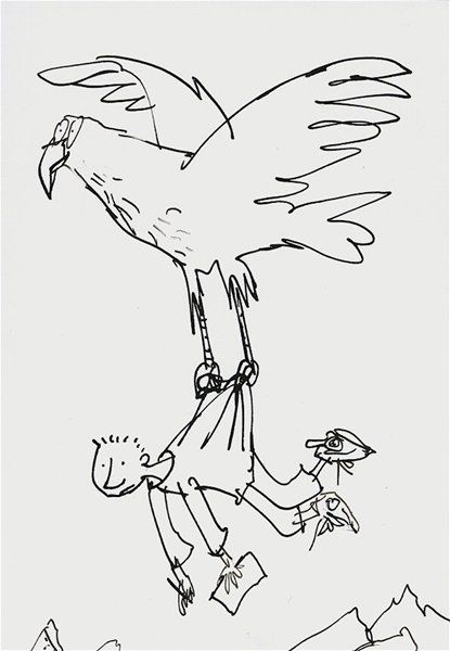 Image result for quentin blake sky