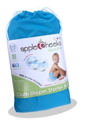 Shop AppleCheeks Bamboo Starter Kit - Cloth Diapers Canada