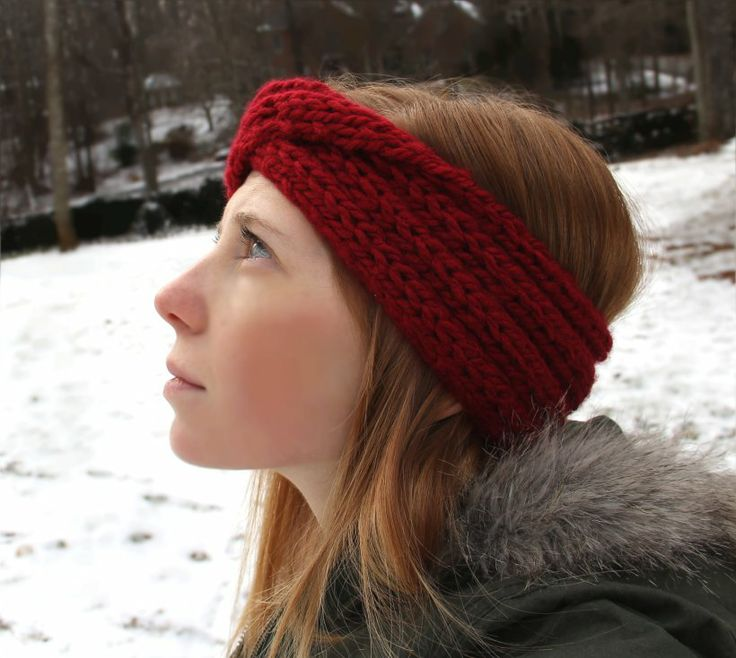 32 Best Knit Headbands Style Guide Images On Pinterest Knit