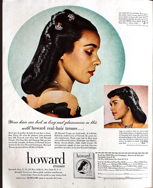 african black hair styles 327 best images about advertisement for 1947 | ef206fc6256f1e778856e73fd57a9a4e