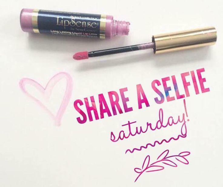 LipSense Selfie Saturday! www.facebook.com/groups/BeautifulAlwaysByMel