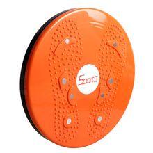 SZ-LGFM-Twist Waist Disc Aerobic Exercise Fitness Reflexology Magnets - Orange //Price: $US $8.45 & FREE Shipping //