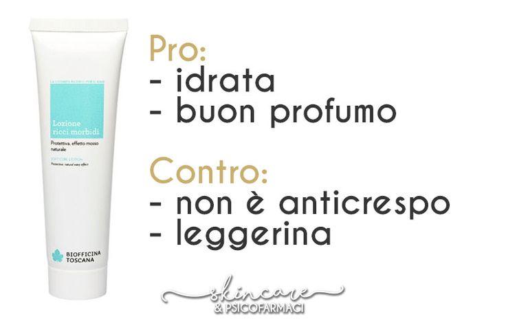 3 prodotti di Biofficina Toscana per i nostri amati capelli ricci: un balsamo e due lozioni... Vediamo cosa ne pensa la nostra Giulia!