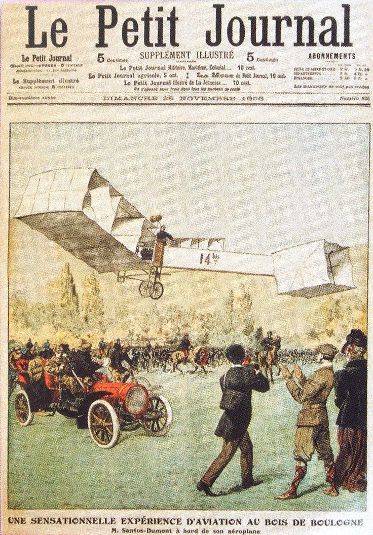 SANTOS DUMONT - Le Petit Journal