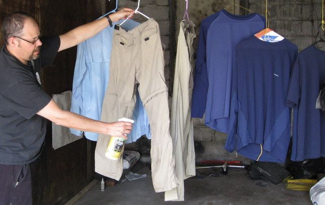 Treating your Clothes with Permethrin | Section Hikers Backpacking Blog