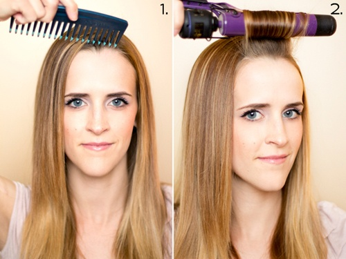 how to get retro curls