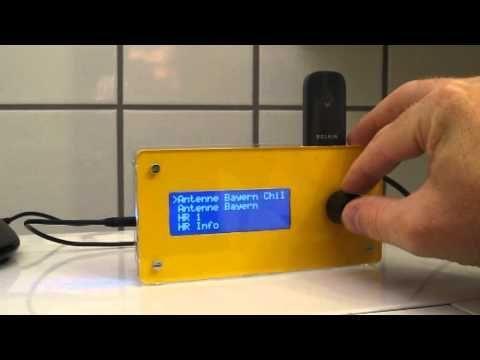 Raspberry Pi Internet Radio Tutorial (MPD + 20x4 LCD) - YouTube