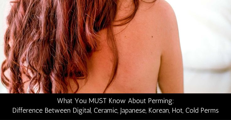 Wave Perm / Body Perm The Korean Perm has more defined curls, giving a heavier, more voluminous look – perfect for even the most formal and sophisticated of events. What's the difference between Digital and Ceramic Perms? Hot vs Cold Perms? Japanese vs Korean Perms?