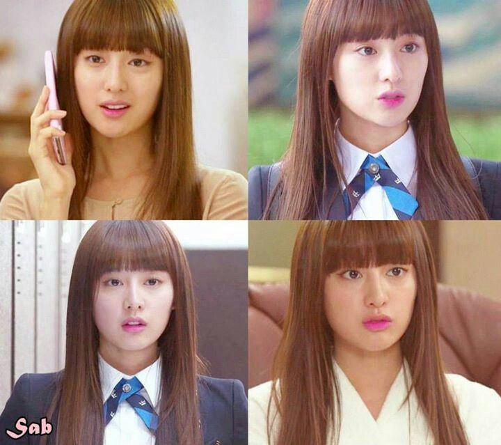 Kim ji won - the heirs yo quiero ese corte  aaaaaaaaakhhhh