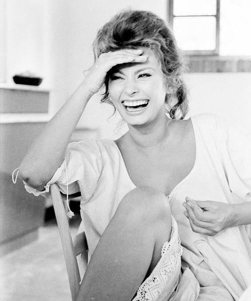 Sophia Loren photographed by Alfred Eisenstaedt, 1961.