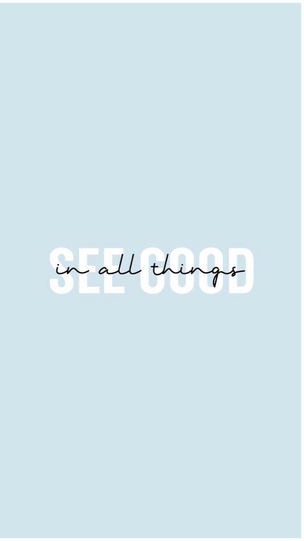 in allen Dingen gut sehen #morningthoughts #quote …