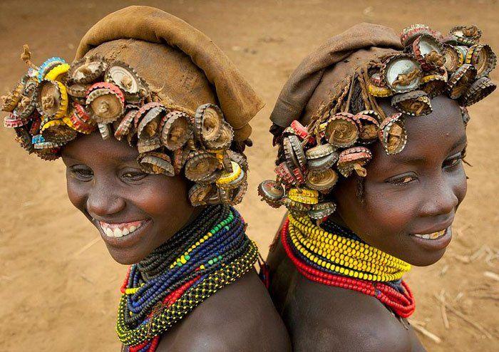 Ethiopia Etiopia peinado headwear hairstyle2