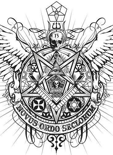 Novus ordo seclorum - Nova ordem dos séculos que popularmente é conhecida como Nova Ordem Mundial,