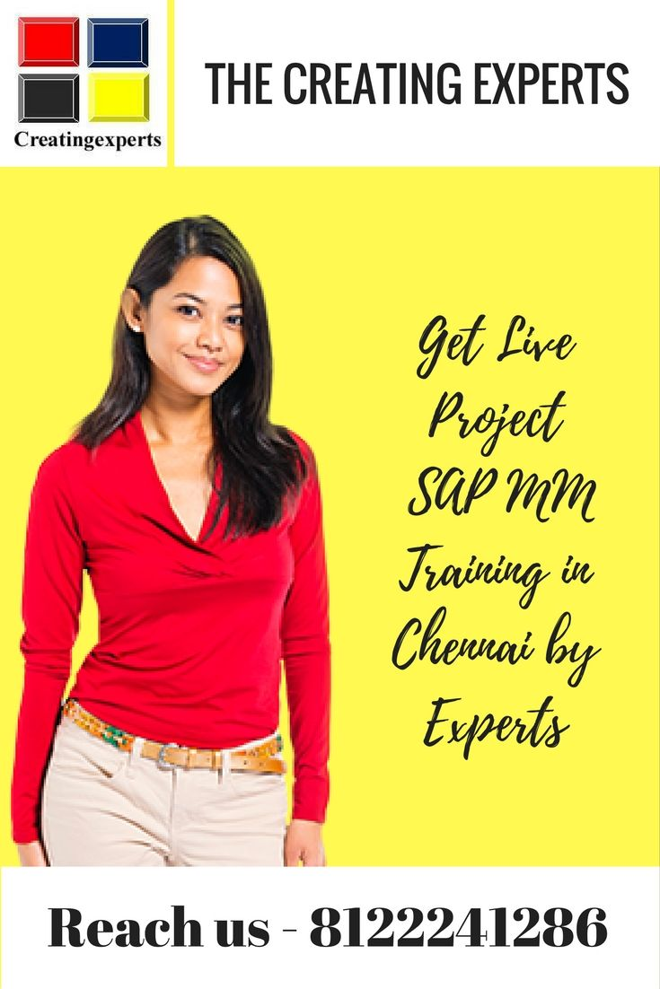 Want to learn #SAP #MM then reach the best #SAP MM Training Center in Chennai Contact us:8122241286 http://bit.ly/1TamQBK