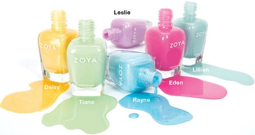 Zoya Delight Spring 2015-from The nail Files