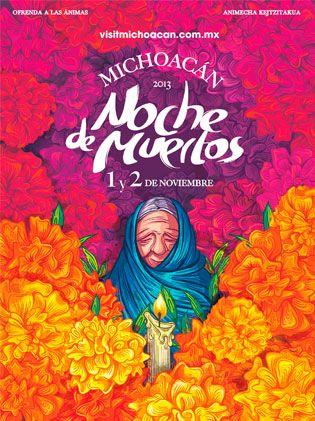 Noche de Muertos 2013 #día #michoacan #mexico #tradición #vacaciones #unesco #patrimonio #tzintzuntzan #patzcuaro #diseños