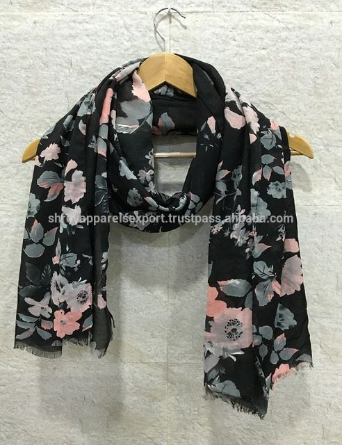 Source HIGH QUALITY INDIA LATEST WOMEN'S VISCOSE SCARF HEAVY WEIGHT on m.alibaba.com