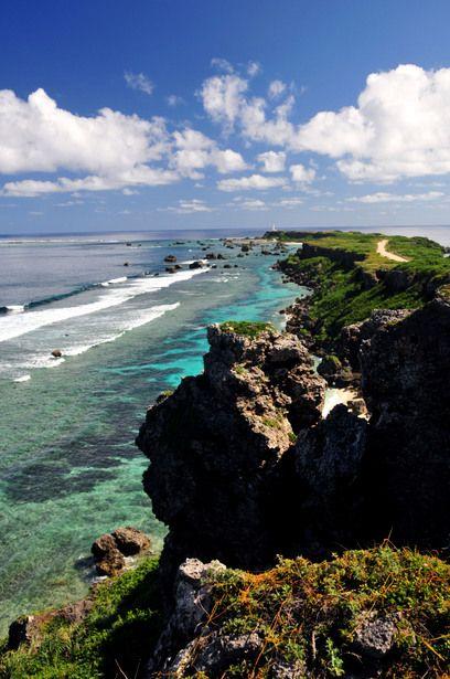 Higashi Henna Cape, Miyako, Okinawa, Japan/ 宮古島、東平安名岬