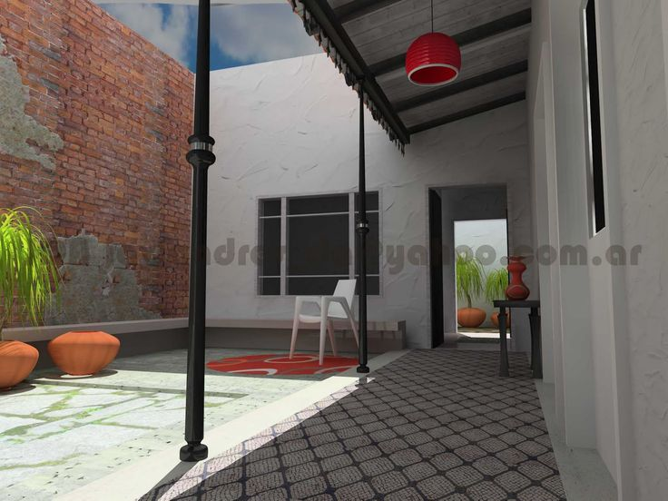 Arquitec maquetas remodelaci n 3d casa chorizo en baires for Remodelacion de casas viejas