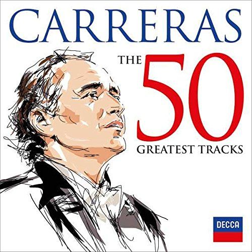 Jose Carreras: 50 Greatest Tracks [2 CD]:   Decca is proud to present the 3rd in the immensely successful 50 Greatest series: Jose Carreras. The perfect compilation for opera lovers, the 2CD set features the 50 greatest tracks that shaped Carreras career including arias by Verdi, Puccini and Tonight from the musical West Side Story.brbrOne of Deccas most acclaimed tenors, Jose Carreras is nearing the 50 year landmark of his professional career, and is currently on his final world tour ...