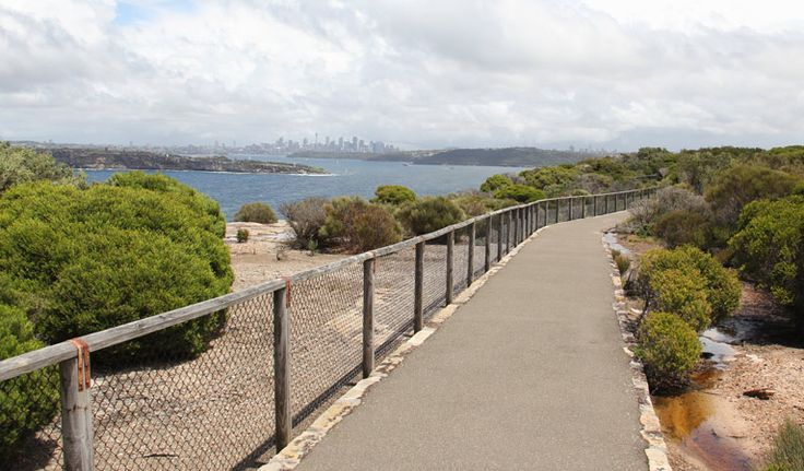 Fairfax walk, Sydney Harbour National Park - good for whale watching in June/July