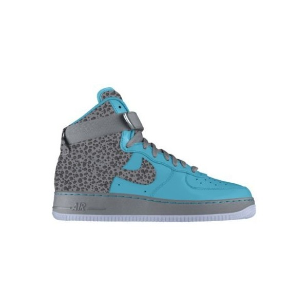 Nike Air Force 1 High Premium iD Custom Women's Shoes - Blue, 8 found on