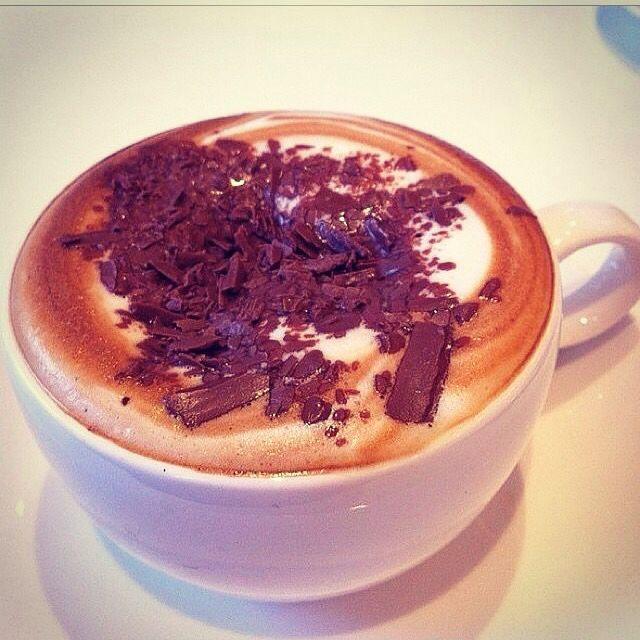 Snow night hot chocolate