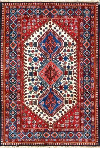 Yalameh Persian rug 100×150 cm.