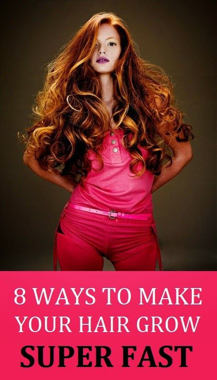 8 Ways To Naturally Grow Your Hair -  Learning how to make your hair grow faster naturally is easy, you just have to know the right methods. By simply avoiding conventional hair products and changing a few of your everyday habits, including poor dietary choices, you will see a radical improvement in your hair's length and health. Read on and take notes.