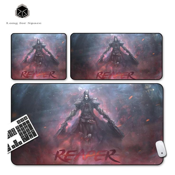 SJLUHS Overwatch REAPER large Gaming Mouse Pad High Quality Expansion Mousepad Profession For Overwatch Free Shipping