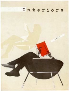 I love the graphics on this magazine.  This is how one is supposed to enjoy a chair!
