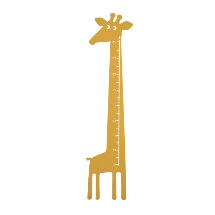 Giraffe Measuring Stick - Yllw