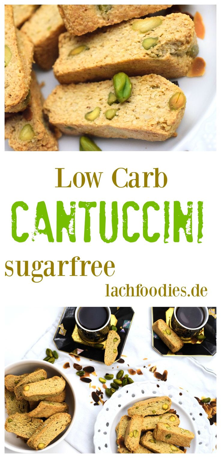 Amazing low carb cantuccini. The perfect sugarfree low carb snack.